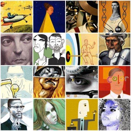 هنري: تاریخچه تصویرسازی در ایران و جهان