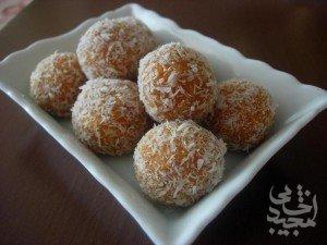 دسر: شیرینی توپی هویج نارگیلی