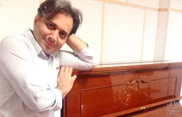 پیانونوازی مجید اخشابی قطعه ی یاد من باش