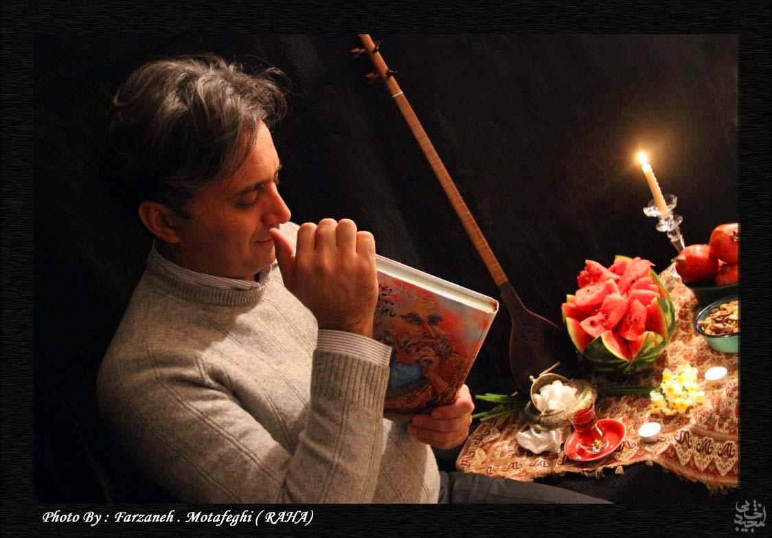 حافظ خوانی مجید اخشابی بمناسبت شب یلدا