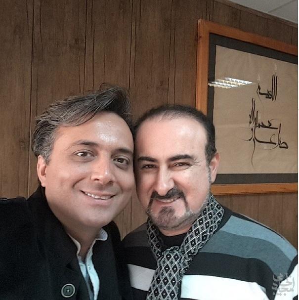 پوستر 169: سلفی مجید اخشابی و دکتر عبدالحسین مختاباد