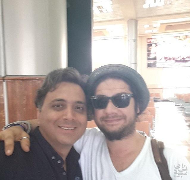 سلفی مجید اخشابی و علی صادقی