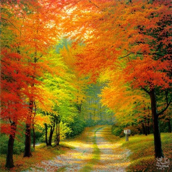 دلنوشته پاییزی