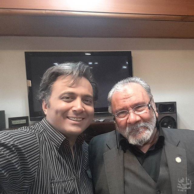 مجید اخشابی و علی معلم