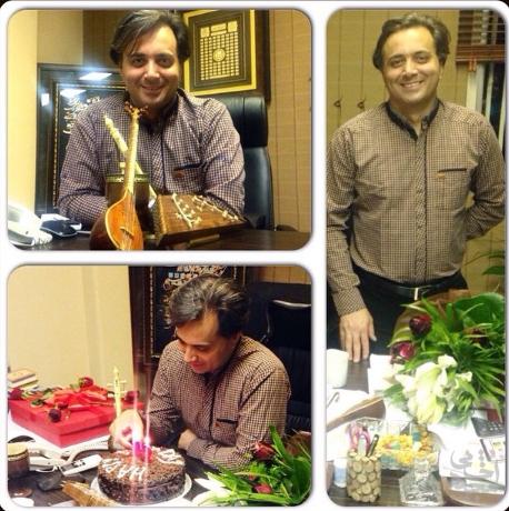 مصاحبه رادیو مهرآوا به مناسبت تولد مجید اخشابی