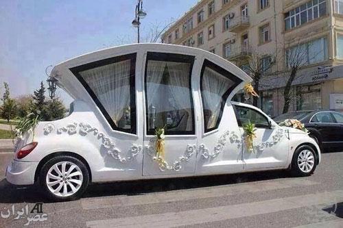 ماشین عروس رویایی