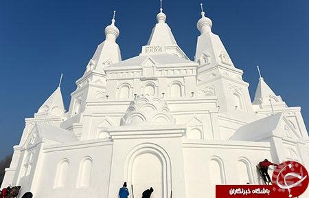 عظیم الجثه ترین قصر یخی در جهان