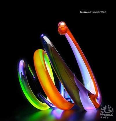 هنرهای شیشه ای چشم نواز