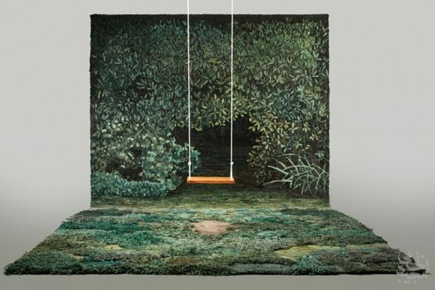 طبیعت را با فرشهای دستباف الکساندرا به خانه ببرید
