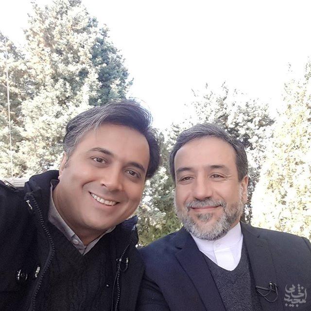 دکتر مجید اخشابی و دکتر عراقچی