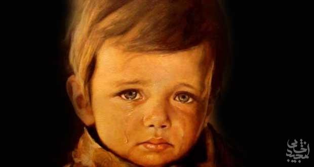 داستان جالب پسر گریانی که یک نقاش گمنام را معروف کرد