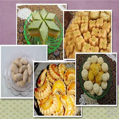 شیرینی های رایج نوروزی در نقاط مختلف کشور