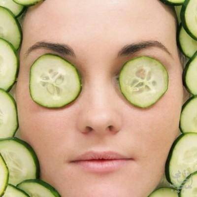 سلامت پوست با نعناع و خیار