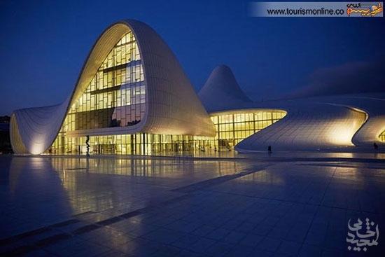 آثار مشهورترین بانوی معمار جهان