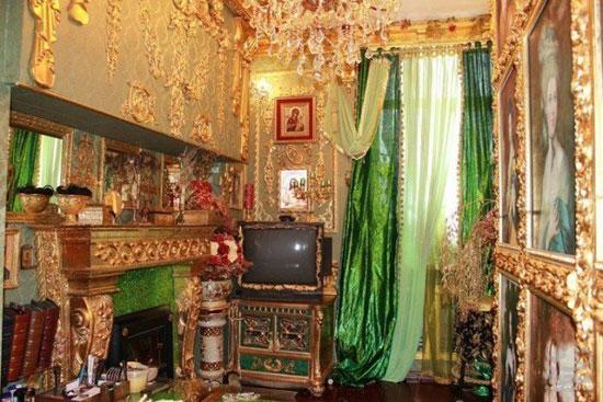 خانه ای از جنس طلا