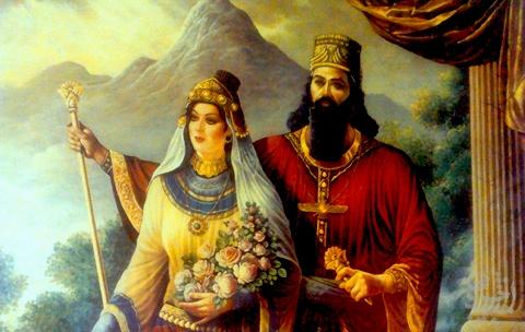 دختران ایران باستان چگونه همسرانتخاب می کردند؟