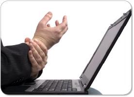 دردهای مشترک کاربران رایانه
