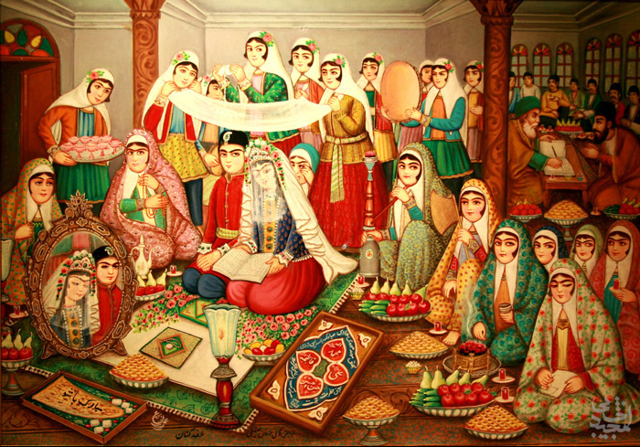 ایرانیان باستان چگونه ازدواج می کردند؟