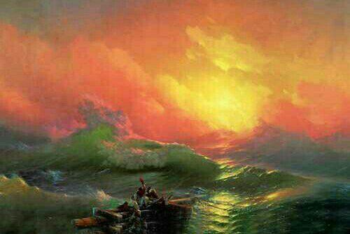 مشهورترین نقاشی های تاریخ: موج نهم اثر ایوان آیوازوفسکی
