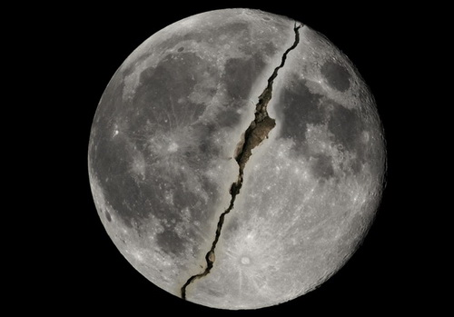 معجزه شق القمر و تحقیقات ناسا