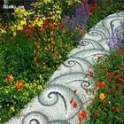 تصاویری از فرش های سنگی زیبا و هنرمندانه