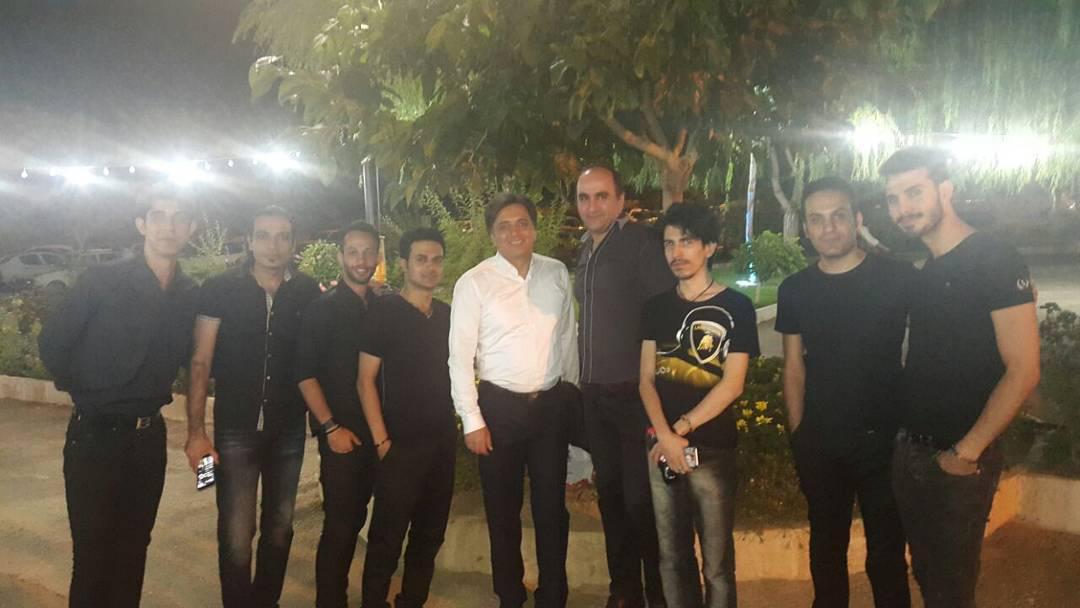 استاد مجید اخشابی در جشن بزرگداشت پزشکان-اراک