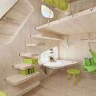 خانه زیبای خلاقانه بسیار کوچک