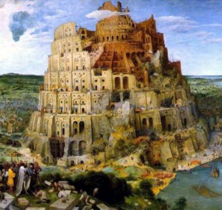 مشهورترین نقاشی های تاریخ(اثر شماره 3): برج بابل اثر پیتر بروگل مهتر(سال 1563)