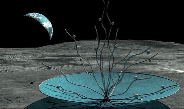 مجسمهای روی ماه- قابل رویت از زمین
