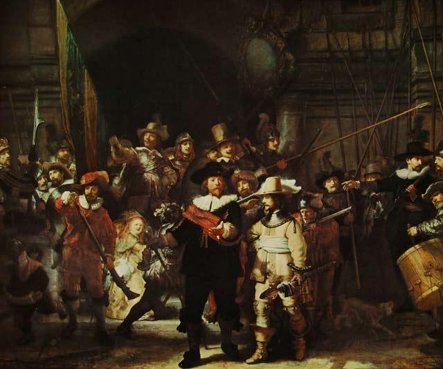 مشهورترین نقاشی های تاریخ: گشت شبانه