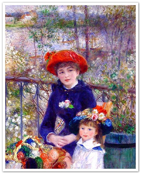 مشهورترین نقاشی های تاریخ: دو خواهر