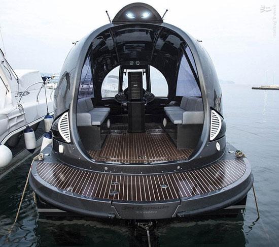 قایقی با طراحی فضایی