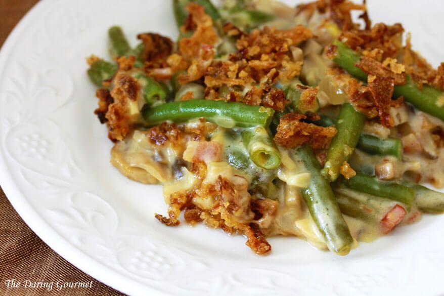 خوراک با سبزیجات