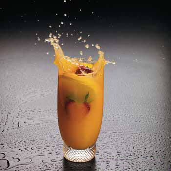 نوشیدنی پرتقال و نعنا