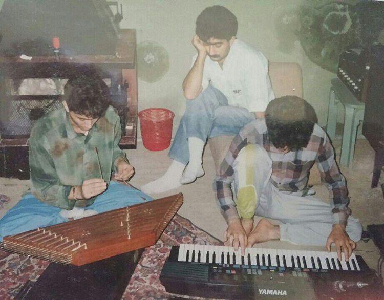 تجدید خاطره مجید اخشابی از عکسی قدیمی