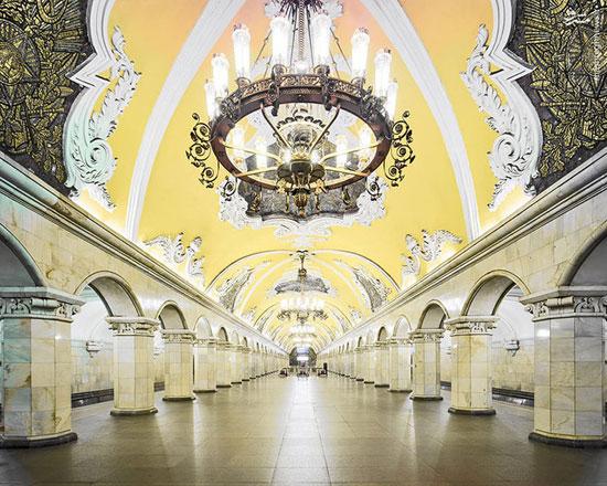 زیباترین متروی دنیا