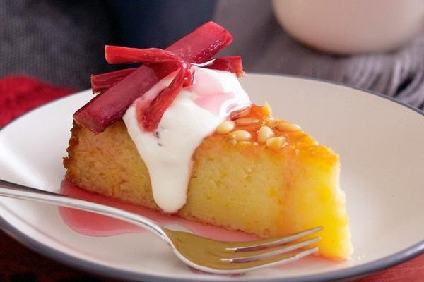 کیک پرتقالی سمولینا و ریواس