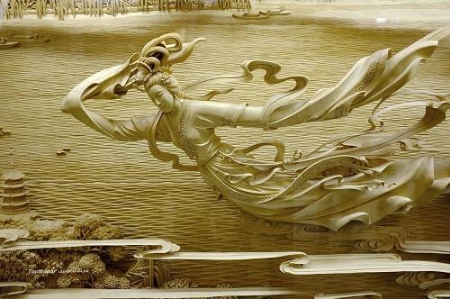 منبت کاریهای زیبا و تاریخی بر روی چوب