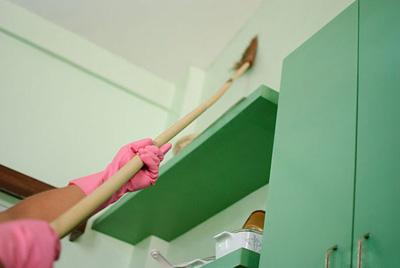 چگونه دیوارها را تمیز کنیم؟