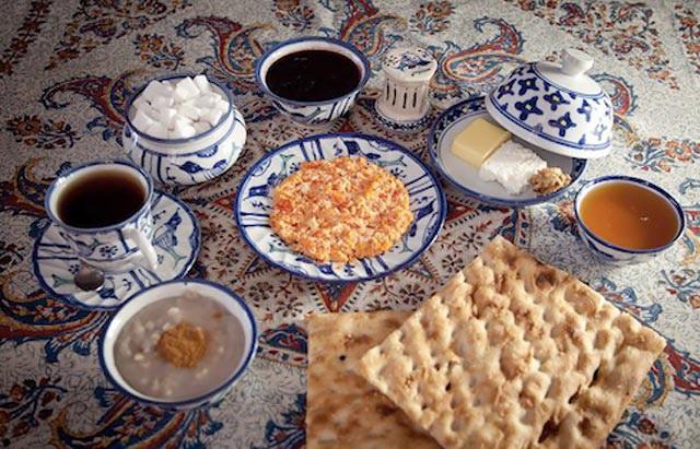 آشنایی با ویژگیهای نانهای ایرانی