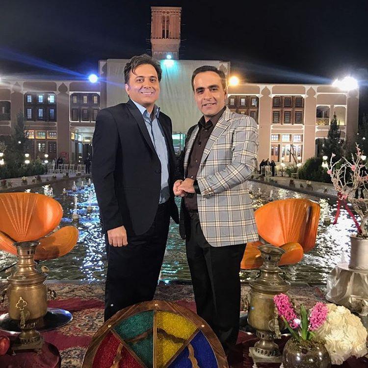 مجید اخشابی به همراه عباس گلرسان