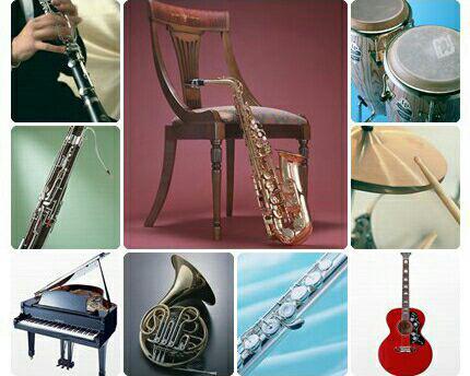 آلات موسیقی از چه ساخته شده اند؟