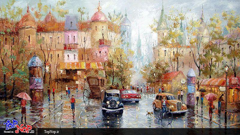 نقاشی هایی از دیمیتری اسپیروس