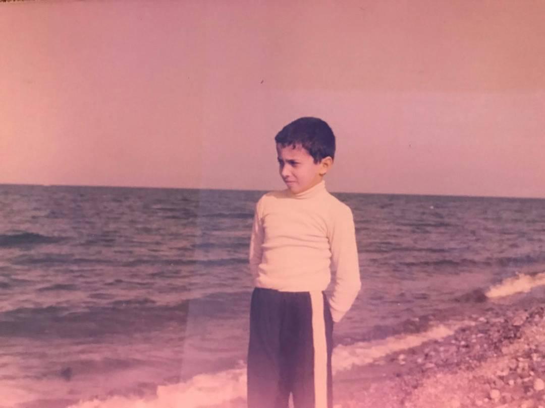 عکسی نایاب از کودکی مجید اخشابی