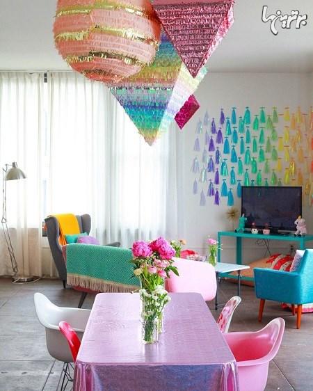رنگارنگترین آپارتمانها