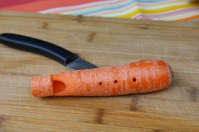 آموزش ساخت فلوت با هویج!