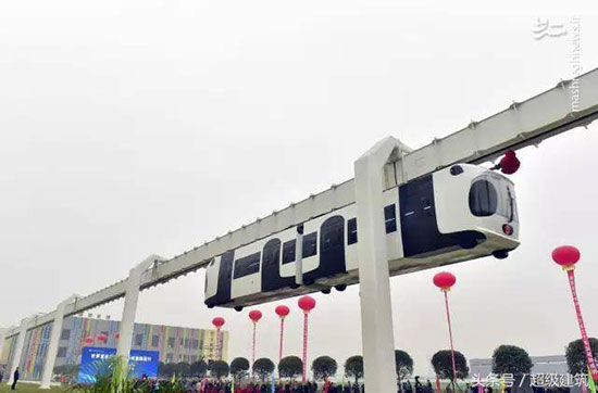 راهاندازی اولین قطار هوایی چین