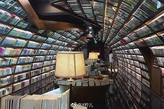 بزرگترین کتابخانه تونلی دنیا
