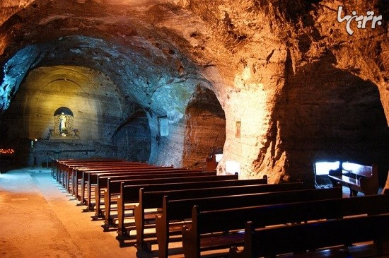 کلیسای نمکی زیرزمینی در کلمبیا