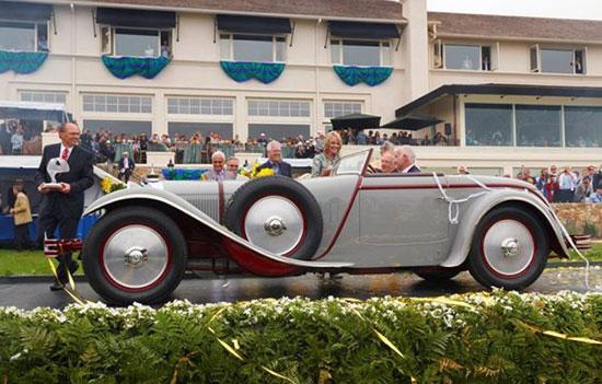 زیباترین خودرو کلاسیک جهان